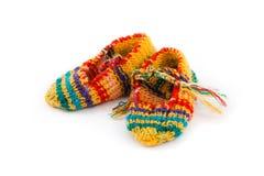 Calcetines de lana foto de archivo