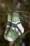 Calcetines de las lanas Fotos de archivo libres de regalías