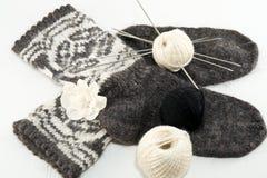 Calcetines de las lanas Foto de archivo