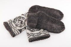 Calcetines de las lanas Fotos de archivo