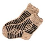 Calcetines de las lanas Imagen de archivo libre de regalías