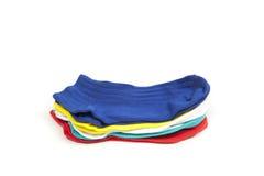 Calcetines de los colores Fotos de archivo