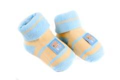 Calcetines del bebé Fotografía de archivo