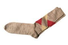 Calcetines del pantalón de Argyle foto de archivo libre de regalías