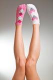 Calcetines impares foto de archivo