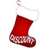 Calcetines lindos de la Navidad Imagenes de archivo