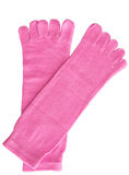 Calcetines rosados Foto de archivo