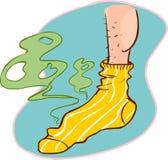 Calcetines Stinky ilustración del vector