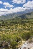 Calchaqui谷在土库曼,阿根廷 库存图片