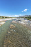Calchaqui River in Salta, northern Argentina. Royalty Free Stock Photos