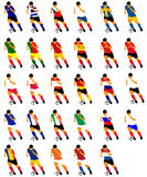 Calciatori royalty illustrazione gratis