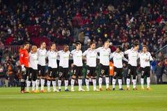 Calciatori di Valencia Fotografia Stock