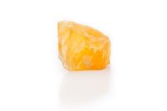 Calcile anaranjado áspero brillante Fotos de archivo
