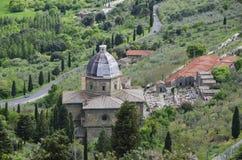 Calcinaio för Santa Maria delleGrazie al kyrka Royaltyfria Bilder