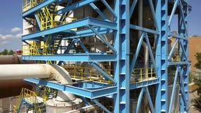 Calciner de la suspensión del gas para la producción de alúmina almacen de video