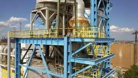 Calciner de la suspensión del gas para la producción de alúmina metrajes