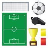 Calcio. Immagini Stock