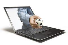 Calcio Immagini Stock