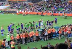 Calcio asiatico di calcio del Giappone della tazza Fotografia Stock Libera da Diritti