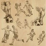 Calcio - calcio (raccolta 2) illustrazione vettoriale