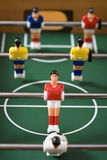 Calcio da tavolo Fotografie Stock