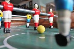 Calcio da tavolo di calcio-balilla del Brasile di calcio Fotografia Stock Libera da Diritti