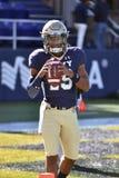 2015 calcio del NCAA - Florida del sud alla marina Fotografie Stock Libere da Diritti