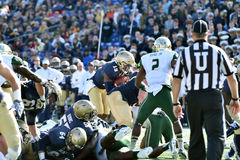 2015 calcio del NCAA - Florida del sud alla marina Fotografia Stock