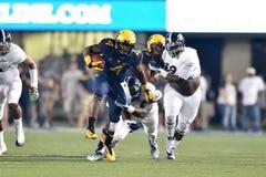 2015 calcio del NCAA - GA @ WVU del sud Fotografie Stock