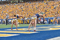 2015 calcio del NCAA - Maryland @ WVU Fotografia Stock