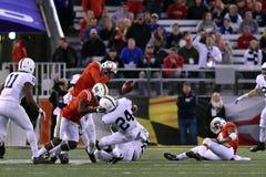 2015 calcio del NCAA - Penn State contro maryland Fotografia Stock Libera da Diritti
