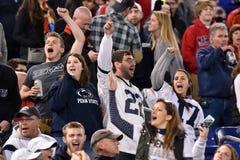 2015 calcio del NCAA - Penn State contro maryland Fotografie Stock Libere da Diritti