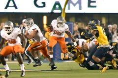 2015 calcio del NCAA - stato di Oklahoma al Virginia Occidentale Fotografie Stock
