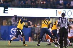 2015 calcio del NCAA - stato di Oklahoma al Virginia Occidentale Fotografia Stock Libera da Diritti