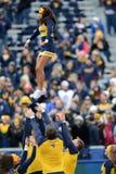 2014 calcio del NCAA - TCU-WVU Fotografie Stock