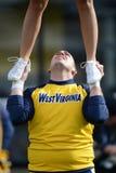 2014 calcio del NCAA - TCU-WVU Fotografia Stock Libera da Diritti