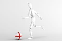 Calcio dell'Inghilterra Immagine Stock Libera da Diritti