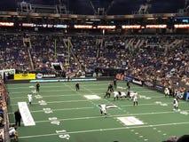 Calcio dell'interno dell'arena con l'Arizona Rattlers fotografie stock