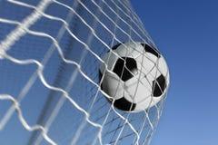 calcio della sfera Fotografia Stock