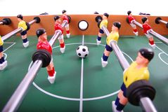 Calcio della Tabella Immagine Stock Libera da Diritti