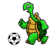 Calcio della tartaruga royalty illustrazione gratis