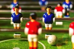 calcio della tavola Immagini Stock Libere da Diritti