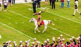 Calcio delle seminole dello stato di Florida Fotografie Stock