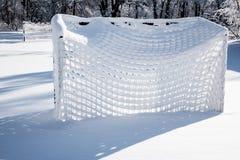 Calcio di inverno Fotografia Stock