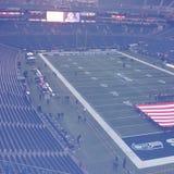 Calcio di Seattle Seahawks Fotografie Stock Libere da Diritti