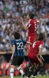 Calcio: Finale 2010 della lega dei campioni Immagini Stock Libere da Diritti