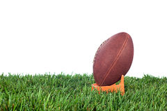 Calcio iniziale di football americano Fotografia Stock Libera da Diritti