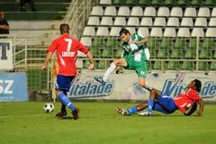 calcio kaposvar di nyiregyhaza del gioco Fotografia Stock Libera da Diritti