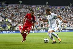 Calcio - lega di campioni di UEFA Fotografie Stock Libere da Diritti