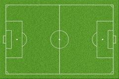 Calcio o campo di football americano Fotografia Stock
